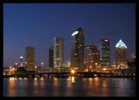 Tampa Skyline by Grouper
