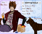 Happy Tails: Kai-Ken by MestariTheMoth