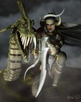 Dragon Queen by Aral3D