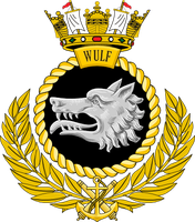 Ships Badge - Wulf by Antrodemus