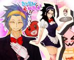 FT.:. Butler and Maid (Gajevy genderbent) by D-eliade