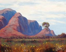 The Olgas by artsaus
