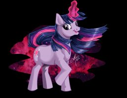 Twilight Sparkle Transfer Design by shottsy85
