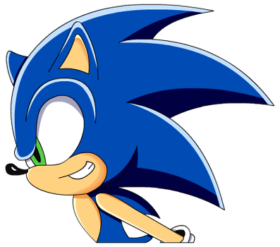 Sonic Banner Piece by CelestOrion