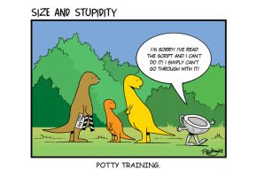 Potty Training by Size-And-Stupidity