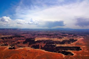 Canyonlands III ( the five fingers) by esee
