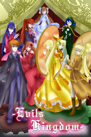 Evils Kingdom: The seven deadly sins by TheBlueMelancholy