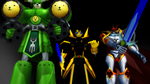 The Trio supercharged by Deimos1984rd