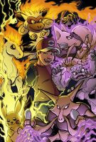 POKEMON Colors by angieness