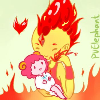 Flame and Candy by PvElephant