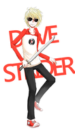 Dave Strider by Miiukka