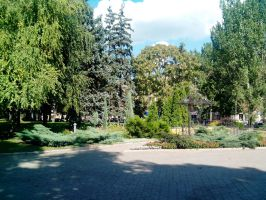Donetsk, the main square. You still don`t believe by FCSD