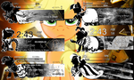 Monochrome Pony pack of players for Rainmeter by LiatLNS