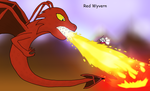 Red wyvern by Meowstic-45