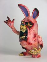 Peter Rottentail Zombunny 3 by TKMillerSculpt