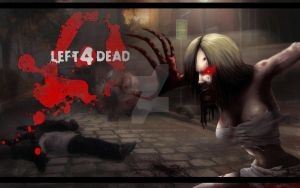 L4D Witch by Underworld666Chaos