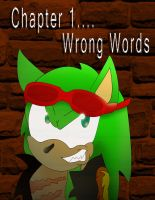 Tri-Personality Chpt 1 Cover: Wrong Words by Mephonix