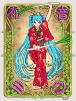 Samurai Miku by Randwill