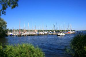 Wannsee Yachthafen - Harbour by nevercrazy