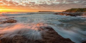 Port Kembla, NSW Sunrise by TahaElraaid