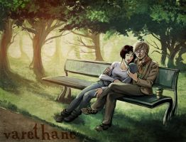 Afternoon at the park by Varethane