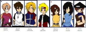 FF8 Naruto Crossover by BluSilvrPaladin