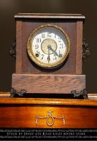 Mantel Clock Stock4 by The-Average-Alex