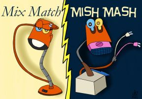 Mix Match to Mish Mash by BobcatAngel