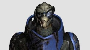 Garrus Vakarian Head Reference by Lordess-Alicia