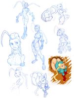 Cammy sketches by thirdMoon