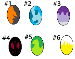 Egg Adoptables -OPEN- by InkSheWolf