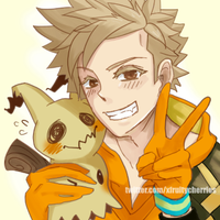 Spark loves all Pokemon by vampirry