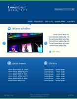 Training Web Design  Layout 01 by NepsTr
