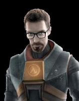 Gordon Freeman Render by Meatsnacks
