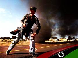 war in libya by bakerGFXislamicDSner