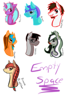 Random: More Pony Head Shots by Anidra