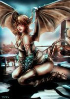 Trivia - Succubus by Glluengo