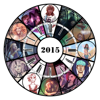 2016 Art Summary by Dianamisu