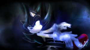 Dark sonic by FANTASY-WORKS-JMBD