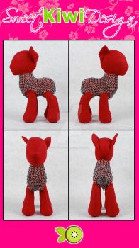 Sir Stuffy has some chain mail! by SweetKiwiDesign