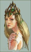 Insect queen by tiemao