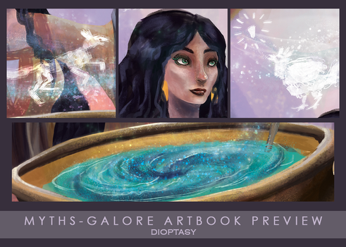 Myths Galore Artbook Preview by Dioptasy