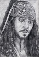 Capitan Jack Sparrow by bidonka
