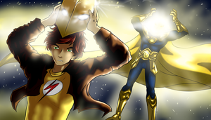 Young Justice - Kid Fate by BIazeRod