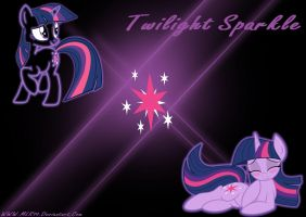 Twilight Sparkle WP by MLR19