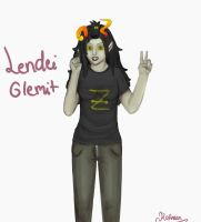 Lendei Glemit for NepetaLejionh33h33!! by Kathaaa