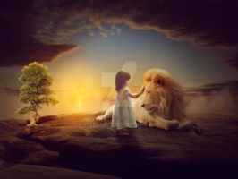 A Lion's Imagination by spescarus