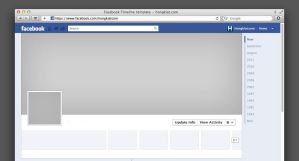 Interfaz de facebook PSD by GianFerdinand