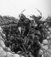 The Battle of Badr by LiquidNerve