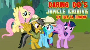 [DKC x MLP FiM] Daring Do's Jungle Groove by DashieMLPFiM